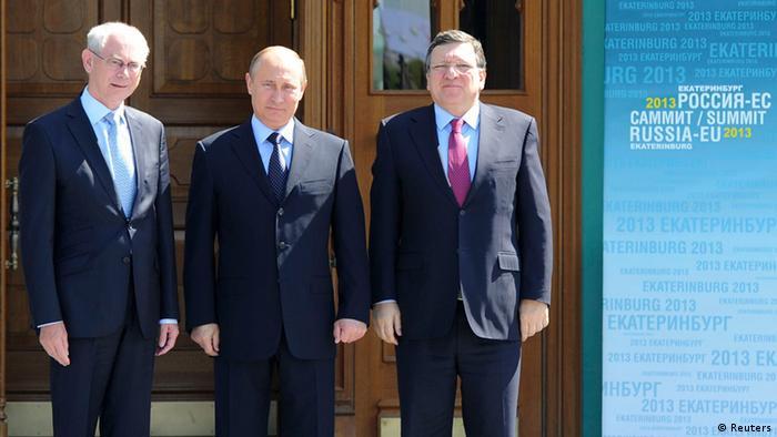 Останній саміт ЄС-Росія, Єкатеринбург, 2013 рік