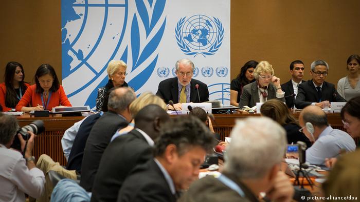 UN Konferenz Syrien chemische Waffen Chemiewaffen Genf (picture-alliance/dpa)