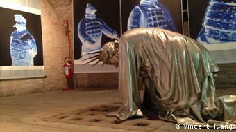 Taiwanese Artist Vincent J.F. Huang's creation (Photo: Vincent Huang/DW)