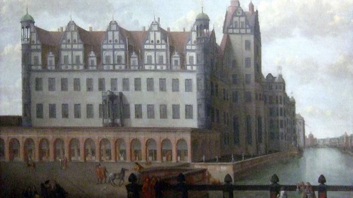 Берлинский Городской дворец, ок. 1685 г.