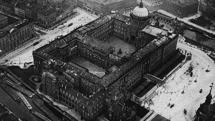 Берлинский Городской дворец, 1900 г.