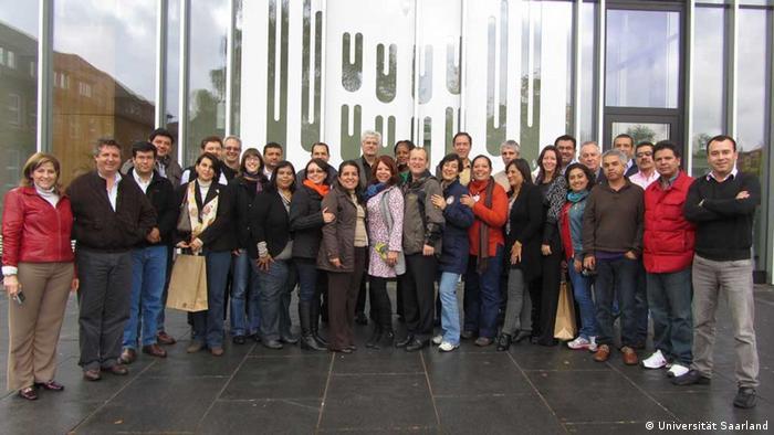 Estudiantes extranjeros en Alemania.
