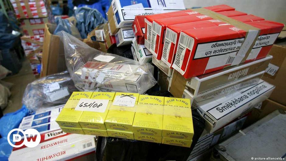 контрабанда табачных изделий