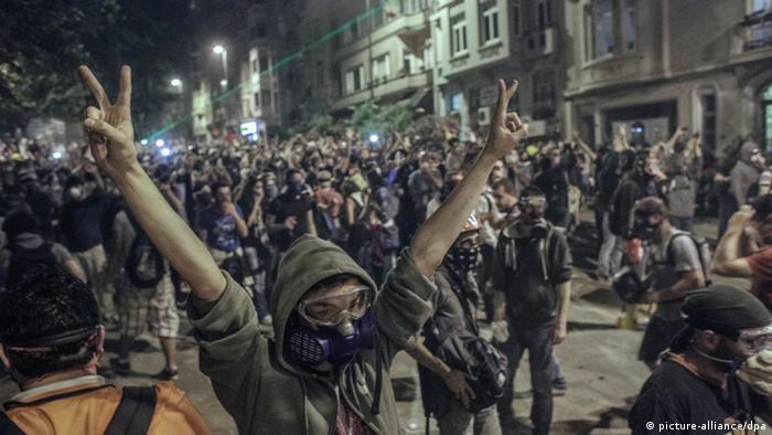 Demonstrationen in Türkei Istanbul Juni 2013