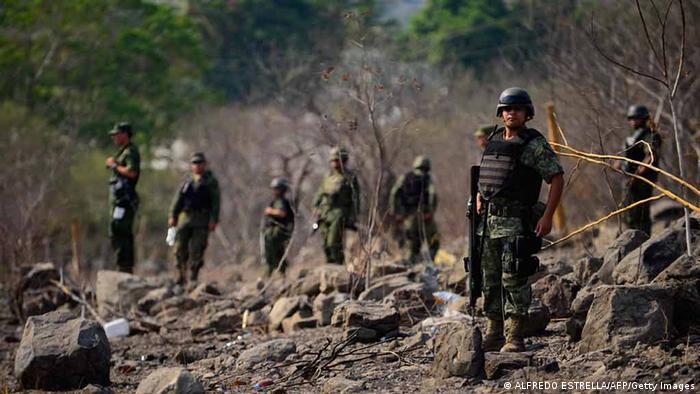 Mexiko Kampf gegen Kriminalität