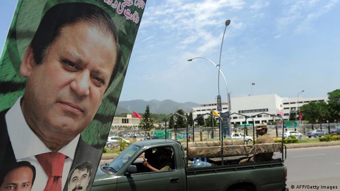 Pakistan Vereidigung von Permier Nawaz Sharif