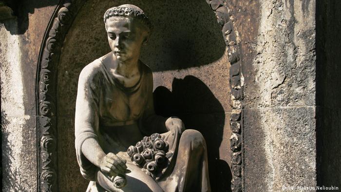 Кладбище Мелатен (Melaten, Köln). Фото: DW / Максим Нелюбин