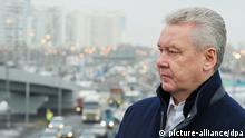 Bürgermeister von Moskau Sergey Sobyanin