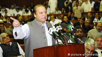 Pakistans Premier Nawaz Sharif (Foto: EPA/PID)