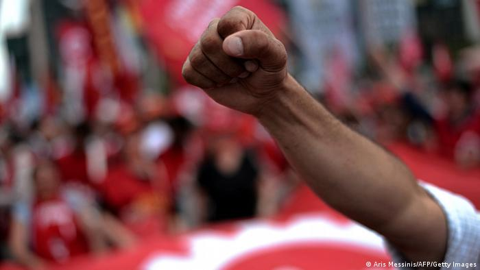 Türkei Proteste gegen die Regierung in Istanbul 05.06.2013 (Aris Messinis/AFP/Getty Images)