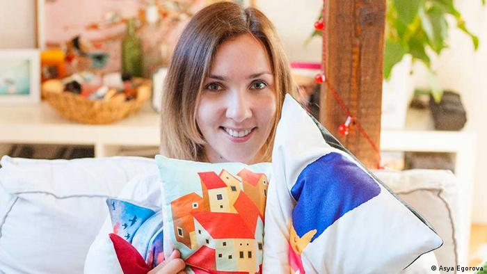 Ася Егорова, создательница интернет-магазина Art for Everyone No Less