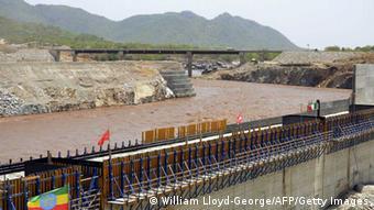Ägypten Äthiopien Damm am Nil