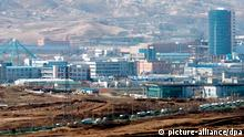 FILE - A file photo dated 15 May 2009 showing a general view of the inter-Korean industrial park in the North Korean city of Kaesong. Amid heightened tensions between North and South Korea, North Korea 08 April 2013 has announced to close the park, one of the only sources of foreign currency for impoverished, isolated North Korea. EPA/YONHAP / FILE SOUTH KOREA OUT (zu dpa Nordkorea schließt Industriepark mit Südkorea am 08.04.2013) +++(c) dpa - Bildfunk+++