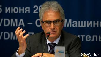 VDMA'nin dış ticaret sorumlusu Ulrich Ackermann