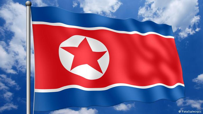 Nordkorea Fahne (Fotolia/mirpic)