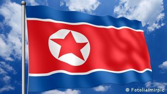 #22605053 -Nordkorea-Fahne © mirpic