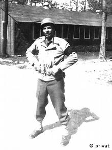 William Weber kao mladi vojnik