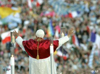 The pope was received enthusiastically in Germany in August