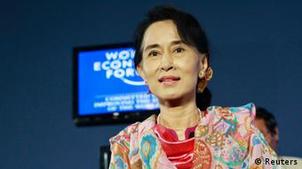 Oppositionsführerin Suu Kyi (Foto: Reuters)