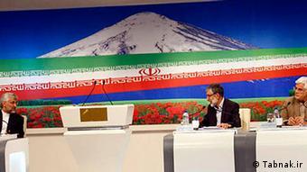 Bildergalerie Iran TV Duell