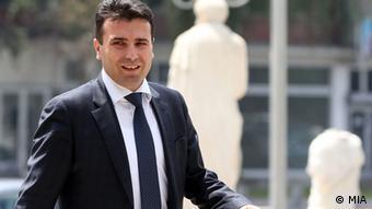 Mazedonien Zoran Zaev Präsident der oppositionellen Partei SDSM