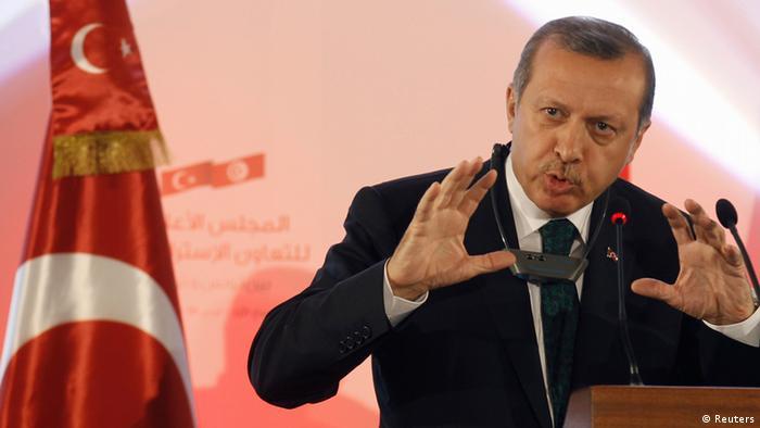 Эрдоган отказался менять план строительства в Стамбуле, а действия демонстрантов резко осудил