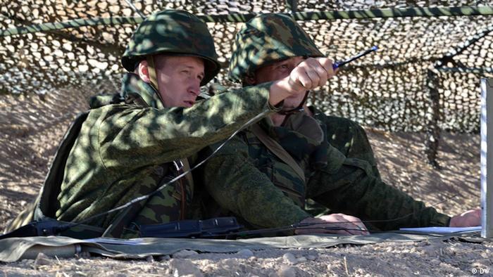 Российские военные в Таджикистане
