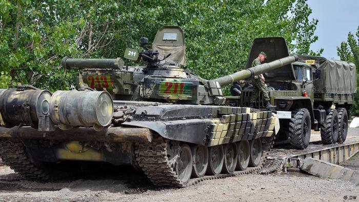Российские танки в Таджикистане