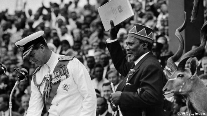 Historische Bilder zum Mau Mau Aufstand in Kenia (AFP/Getty Images)