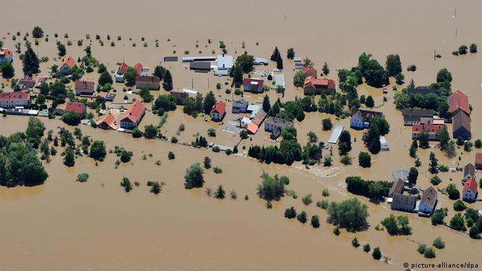Наводнение в Дрездене