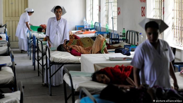Krankenhaus in Bangladesch (picture-alliance/dpa)