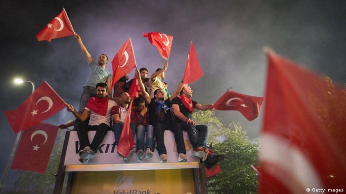 Türkei Unterstützer Erdogan Istanbul 07.06.2013