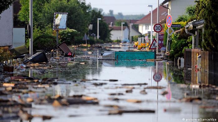 Наводнение в Деггендорфе
