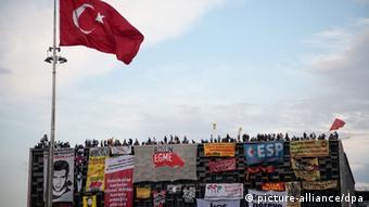 Türkei Proteste gegen die Regierung in Istanbul Taksim Platz 07.06.2013
