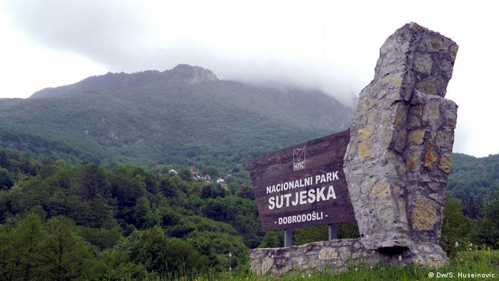 Naturschutzgebiet Sutjeska Bosnien und Herzegowina
