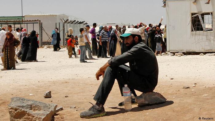 Syrien Flüchtlinge Al Zaatri Kamp in Jordanien