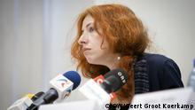 Tanya Lokshina, russische Menschenrechtsaktivistin bei Human Rights Watch in Moskau