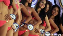 Bikini Verbot bei Miss-World-Wahl Indonesien
