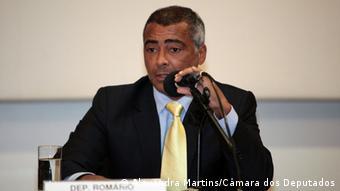 ehemaliger Fussballspieler Romario, brasilianischer Abgeordneter