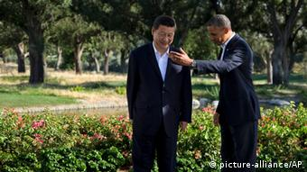 Obama / Xi Jinping Treffen in Rancho Mirage 07.06.2013