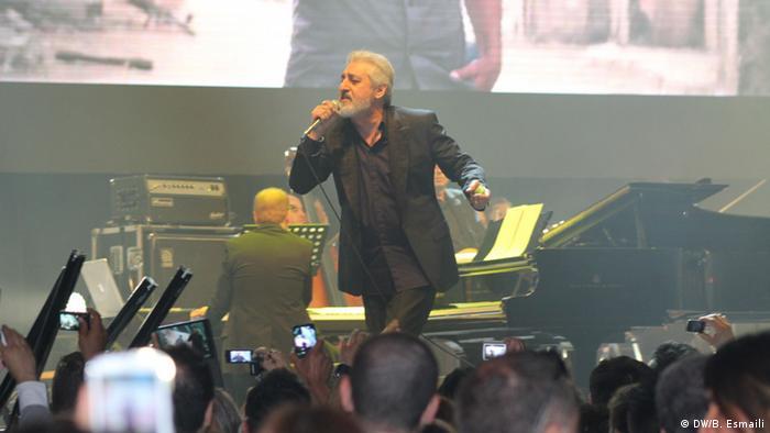 ابی در کنسرت امید برای ایران در برلین