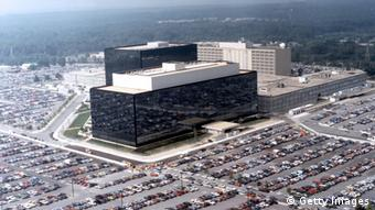 This undated photo provided by the National Security Agency (NSA) shows its headquarters in Fort Meade, Maryland. (Photo by NSA via Getty Images)