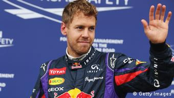 MONTREAL, QC - JUNE 08: Sebastian Vettel of Germany and Infiniti Red Bull Racing celebrates in parc ferme after finishing first during qualifying for the Canadian Formula One Grand Prix at the Circuit Gilles Villeneuve on June 8, 2013 in Montreal, Canada. (Photo by Mark Thompson/Getty Images)