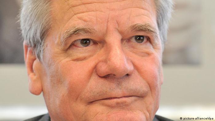 Bundespräsident Joachim Gauck Porträt (Foto: picture alliance)