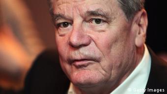 Bundespräsident Joachim Gauck (foto: Getty Images)