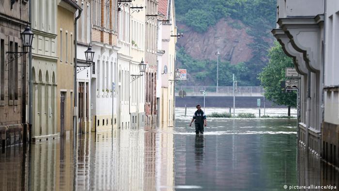 Hochwasser in Meißen (Foto:dpa)