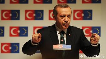 Türkei Premierminister Recep Tayyip Erdogan