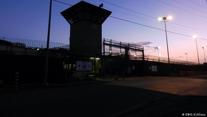 Guantanamo outside, as dawn creeps up Copyright: Gero Schließ/DW