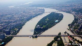 Hochwasser Ungarn Budapest 09. Juni 2013