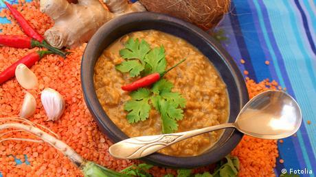 Linsen Curry Indische Küche